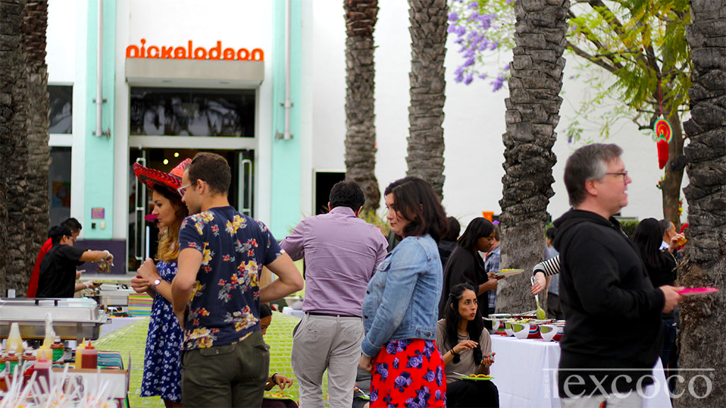 Catering at Nickelodeon Animation Studios, Cindo de Mayo 2016